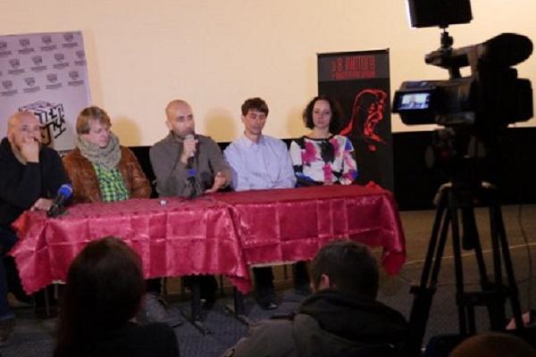 У Тернополі допрем'єрний показ фільму «Міф» про Василя Сліпака пройшов з аншлагом