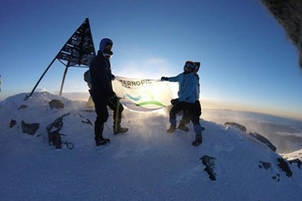 Тернополянин підкорив найвищу вершину Атлаських гір