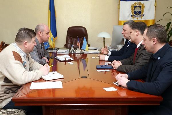 Відбулася зустріч міського голови Тернополя Сергія Надала з представниками Агентства США з міжнародного розвитку (USAID)