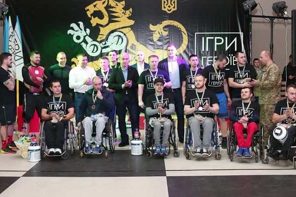 Ігор Гуда: Для мене велика честь підтримати змагання «Ігри героїв»