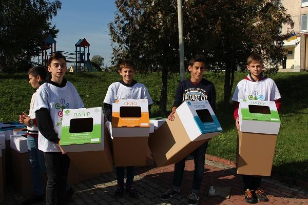 Роздільний збір сміття: Агрохолдинг «МРІЯ» підтримує екологічні ініціативи