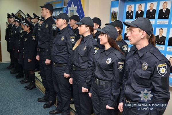 Тернопільська поліція поповнилась на 21 стража порядку