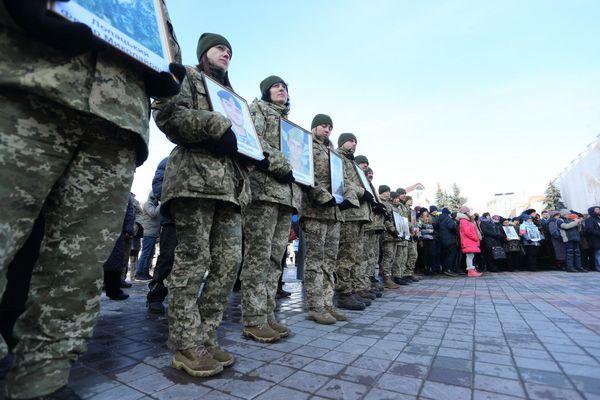 Реквієм за Героями Небесної Сотні відбувся 20 лютого у Тернополі (Фото)