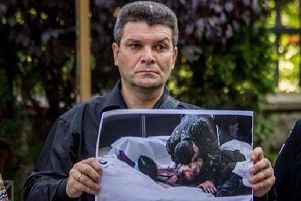 Батько Устима Голоднюка розповів, як пережив смерть сина (Відео)
