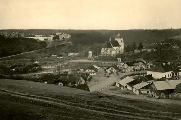 Язловець на фото Першої світової війн