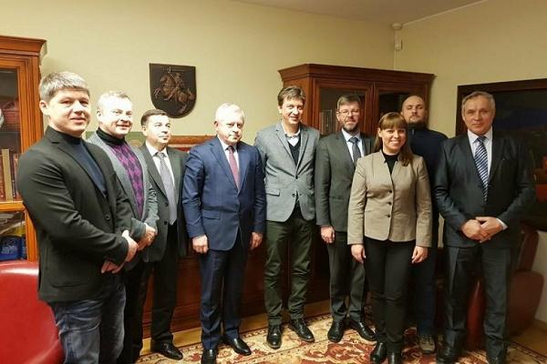 Очільники ДІЯ та УДА зутрілися з послом Литви