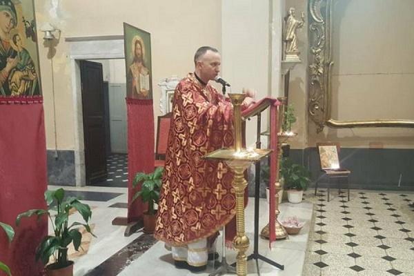 Священик з Тернопільщини розпочав 16-тиденний місійний тур для українських заробітчан в Італії (Фото)