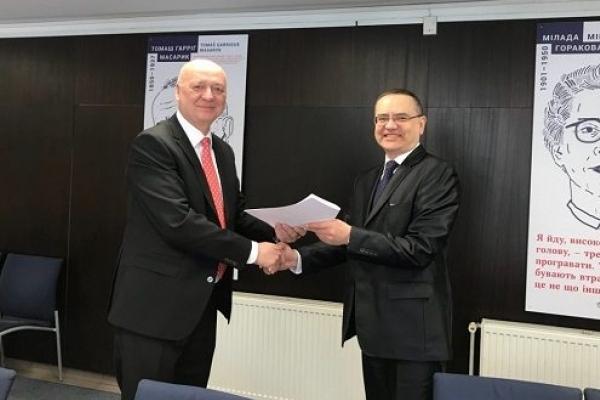 ТДМУ отримав грант від Посольства Чеської Республіки в Україні