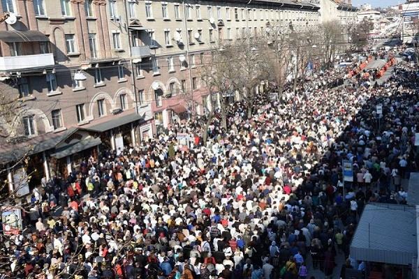 Наймасовіша Хресна хода у Тернополі відбудеться наприкінці березня