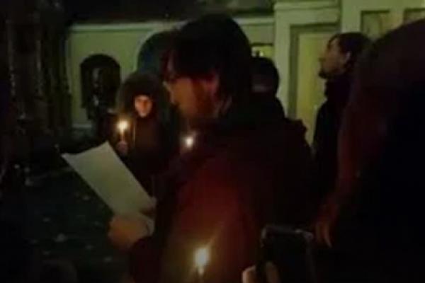 В Успенському соборі Києво-Печерської лаври пройшов молебень за перемогу у війні з Росією