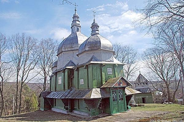 Як на Тернопільщині «подорожували» церкви