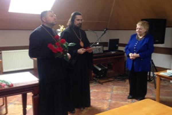 Владика Нестор вручив орден відомій тернопільській журналістці (Фото)
