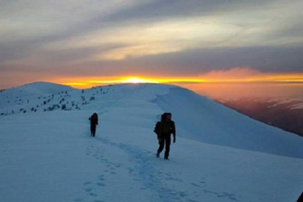 В снігових заметах на Говерлі пролунав «Заповіт» Шевченка