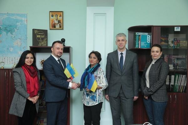 Еквадор зацікавлений у продовженні співпраці з ТНЕУ в сфері вищої освіти