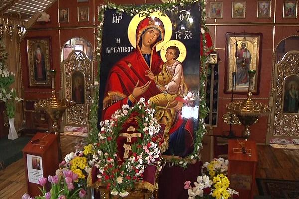 Зі святої гори Афон у Тернопіль привезли Ікону Матері Божої «Скоропослушниці» (Відео)