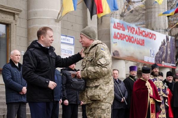 Степан Барна: Відроджена українська армія обов'язково наведе порядок на Донбасі і в Криму (Фото)