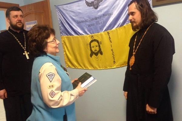 В Тернополі відбулася зустріч архієпископа Нестора і голови Пласту в світі Марти Кузьмович