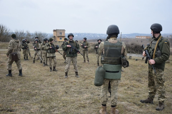 Тернопільські артилеристи тренувалися в умовах наближених до бойових (Фото)