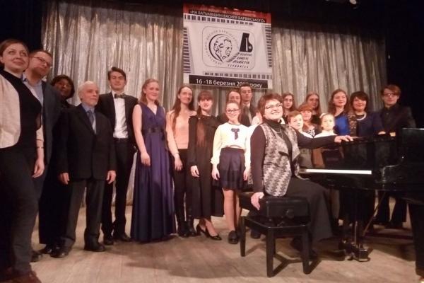 В Тернополі відбувся конкурс піаністів «На батьківщині Василя Барвінського» (Фото)