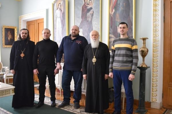Патріарх Філарет зустрівся з членами Проводу НВР «Правий сектор»