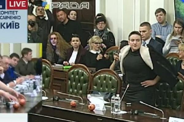 Комітет дав згоду на арешт Савченко, в свою чергу Надія принесла на засідання гранати