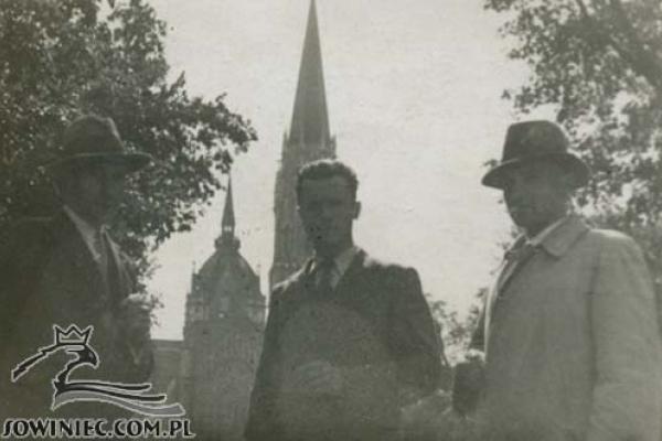 Тернопільський парафіяльний костел на ретросвітлинах (Фото)