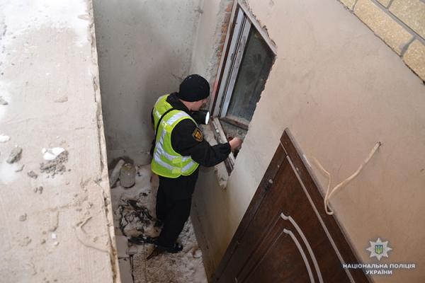 У Тернополі намагались обікрасти нежилий будинок