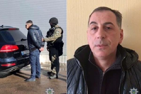 На Київщині правоохоронці затримали злодія в законі «Рамаза Багдатського» (Відео)