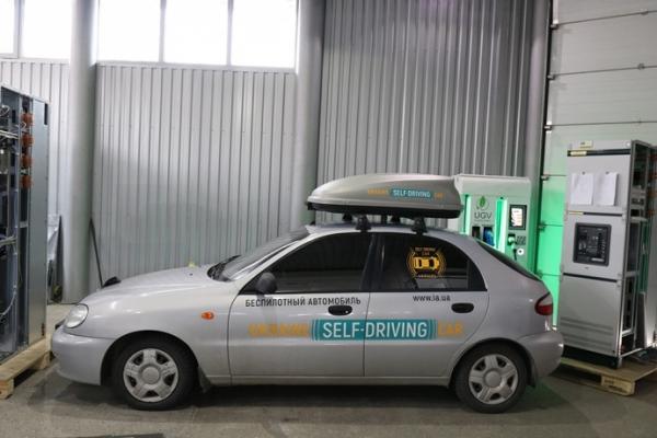 У Запоріжжі зібрали перший безпілотний автомобіль (Фото)
