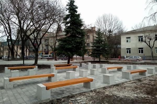 «Сквер волонтерів пам'яті Віктора Гурняка» у Тернополі