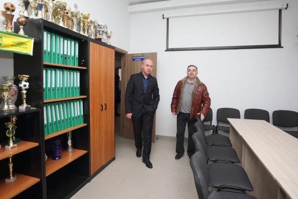 Нові приміщення отримав КЗ «ДЮСШ з футболу та інших ігрових видів спорту»