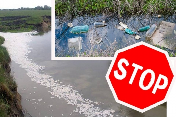На Тернопільщині нещадно забруднюють річку