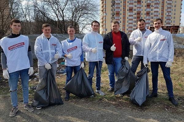 У Тернополі на стадіоні «Текстерно» провели толоку