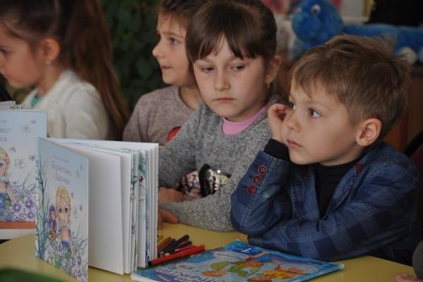 «Бурмотійко і Даринка» відкрили у Тернополі Всеукраїнський Тиждень дитячого читання