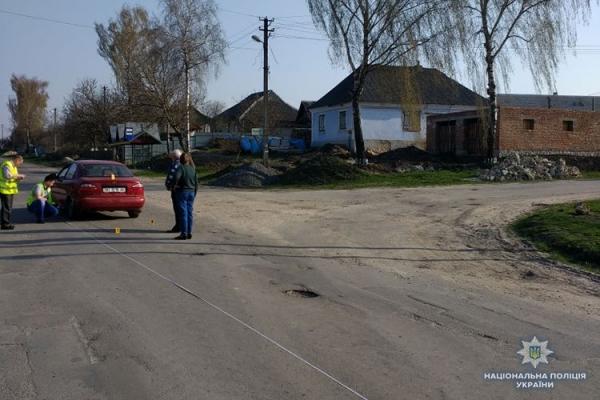 На Шумщині 8-річний хлопчик потрапив під колеса авто (Відео)