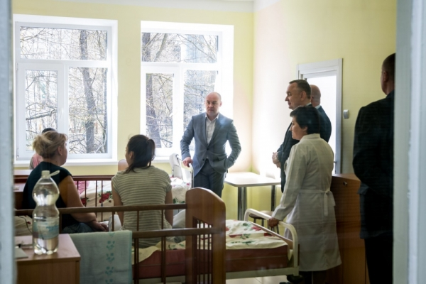 У Тернопільській дитячій лікарні відремонтували інфекційне відділення
