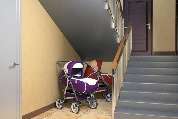 В Тернополі злодій поцупив дитячий візок
