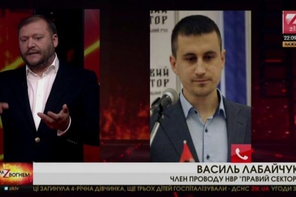 Активіст з Тернополя поскандалив з Добкіним через роспатріархат
