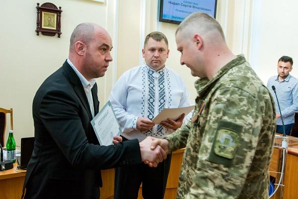 У Тернополі учасники АТО вчергове отримали квартири у новобудовах (Фото)