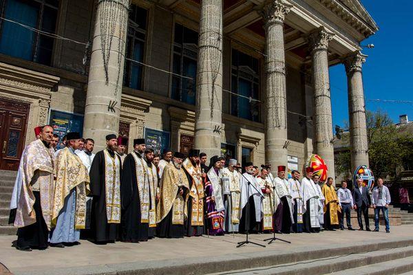 У Тернополі молилися за створення єдиної помісної Церкви