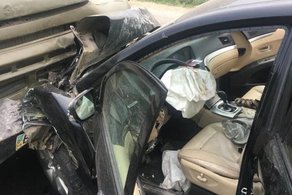 В райцентрі на Тернопільщині в аварії загинув молодий чоловік (Фото)