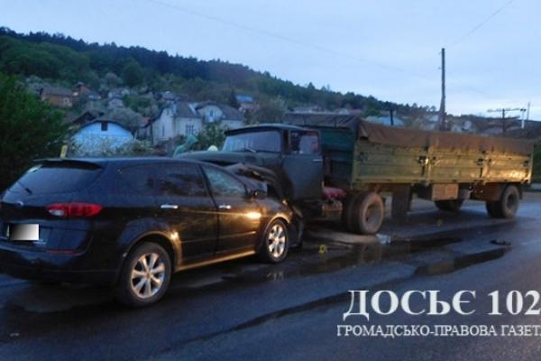 На Тернопільщині водій загинув через порушення ПДР