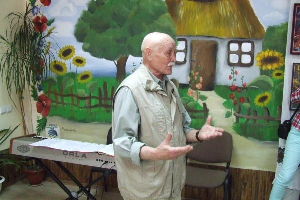 Картини 81-річного тернопільського художника зберігаються у приватних колекціях на всіх континентах