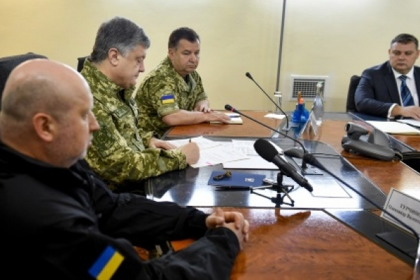 Петро Порошенко: АТО закінчено