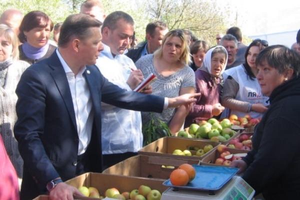 Олег Ляшко: «М'ясний павільйон має бути забитий покупцями, а не глядачами»