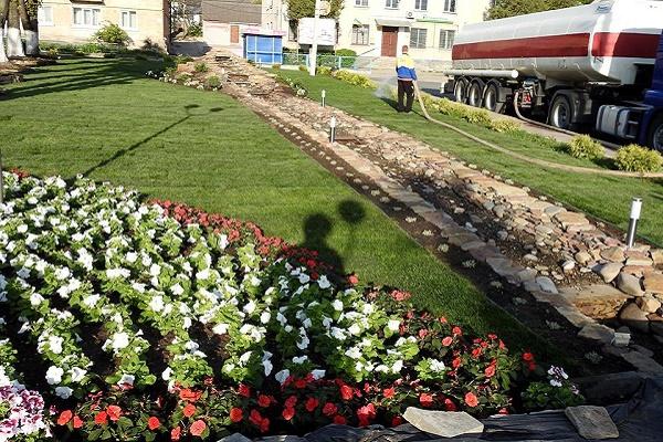 На Тернопільщині облаштують унікальний фонтан (Фото)