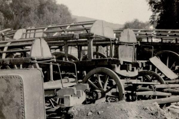 Зруйнований Зборів 1917-1918 років: ретро світлини