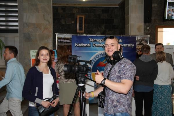 У Тернополі відбувся фестиваль професій «Гостини в ТНПУ» (Фото)