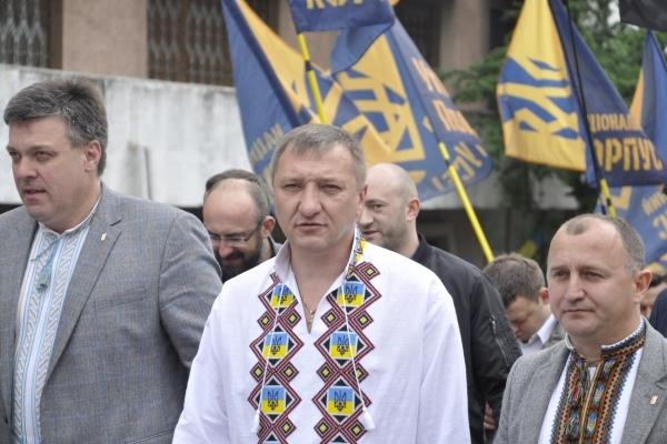У Тернополі тисячі націоналістів вийшли на марш «За українське майбутнє без олігархів»