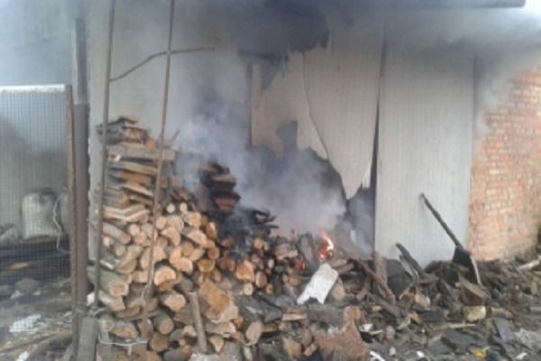 У жителів Кременця згорів запас дров